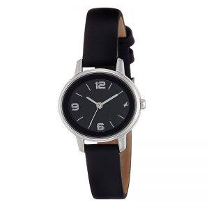 Fastrack Analog Black Dial Women'S Watch-Nk6107Sl02