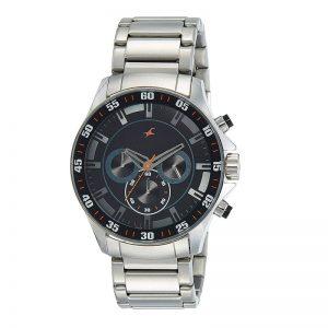 Fastrack Analog Black Dial Men'S Watch - 3072Sm04