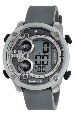 Fastrack Trendies Analog Grey Dial Men'S Watch-38045Pp02
