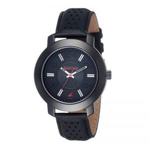 Fastrack Analog Black Dial Men'S Watch-Nk3120Nl02