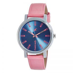 Fastrack Fundamentals Analog Blue Dial Women'S Watch - 68010Sl02