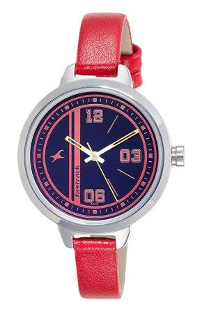 Fastrack Varsity Analog Silver Dial Women'S Watch - 6174Sl02