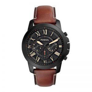 Fossil Chronograph Black Dial Men'S Watch - Fs5241