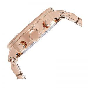 Fossil Es3380 Boyfriend Chronograph Rose Gold-Tone Dial Watch For Women