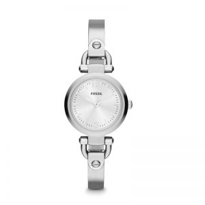 Fossil Georgia Analog Silver Dial Women'S Watch - Es3269