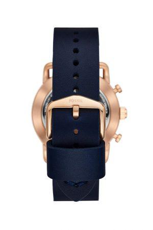 Fossil Hybrid Watch Analog Blue Dial Men'S Watch - Ftw1154