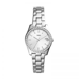 Fossil Analog Silver Dial Women'S Watch - Es4317