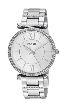 Fossil Analog Silver Dial Women'S Watch - Es4341
