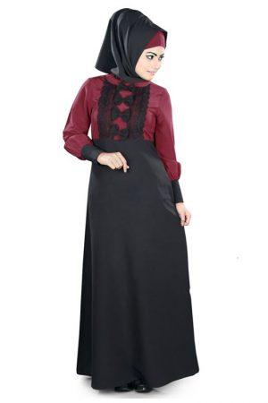 Womens Abaya Black Color Formal