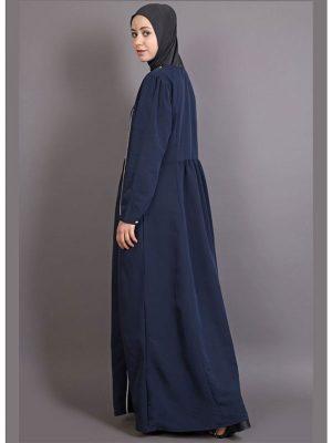 Womens Abaya Blue Color Casual Wear