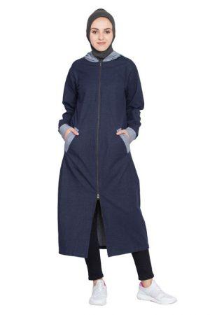 Womens Abaya Blue Color Daily Wear