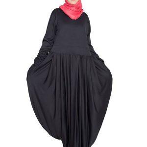 Womens Abaya Black Color Designer Wear