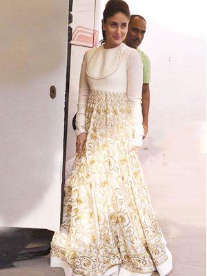 Kareena Kapoor Georgette Multi Work Bollywood Gown