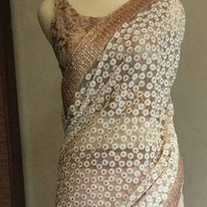 Nylon Net White Colour Bollywood Lehenga
