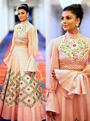 Noora Silk Pastal Colour Bollywood Lehenga