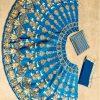 Silk Blue Colour Bollywood Lehenga
