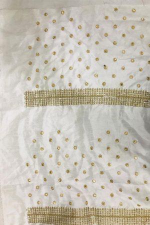 Innovative Grey Colour Nylon Net Bollywood Designer Sarees
