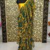 Buy Alia Bhatt Mint Digital Print Ruffle Saree