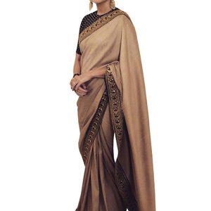 Anushka Sharma Silk Cream Replica Saree