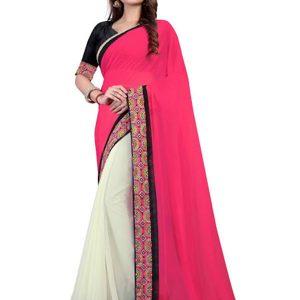 New Arrival Georgette Multicolor Bollywood Replica Saree