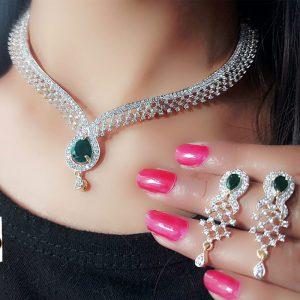 American Diamond High End Necklace Set