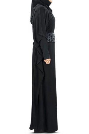 Womens Abaya Black Color Daily Wear