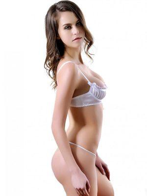 White Thong Bikini