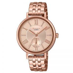 Casio Sheen SHE-3066PG-4AUDF (SX238) Rose Gold Women's Watch