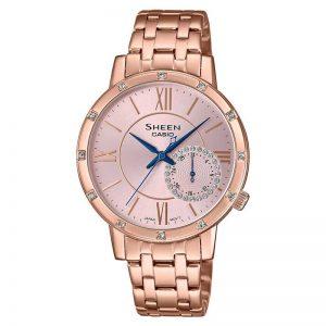 Casio Sheen SHE-3046PG-4AUDR (SX260) rose Gold Women's Watch