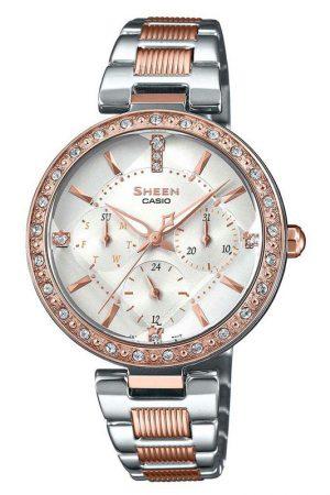 Casio Sheen SHE-3068SPG-7AUDF-SH213-Multi-Dial Women's Watch