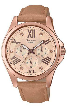Casio-Sheen-SHE-3806GL-9AUDR-SH214-Multi-Dial-Women's-Watch