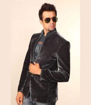A Magnificent Party Rocker Adaptable Modern Grey Designer Blazers