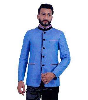 Created Uber-Traditional Best Surf Blue Designer Blazers